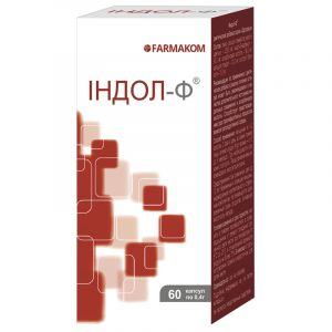 Индол-Ф, Фармаком, для женщин, 0.4 г, 60 капсул