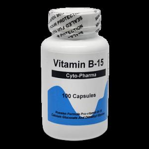 Пангамовая кислота витамин В15, Cyto Pharma, 100 капсул
