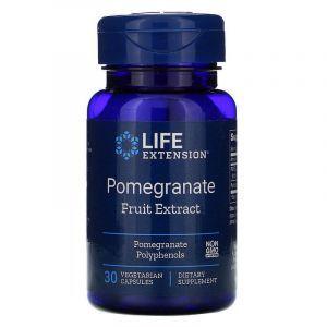 Гранат, Pomegranate, Life Extension, фруктовый зкстракт, 30 капс