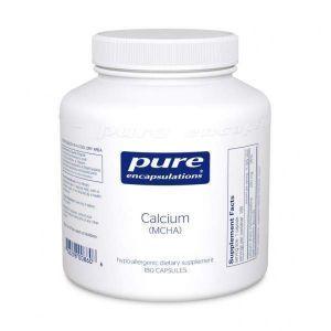 Кальций (MCHA), Calcium (MCHA), Pure Encapsulations, 180 капсул