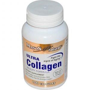 Коллаген, Mason Vitamins, 100 капсул