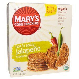 Крекеры из цельного зерна с острым и пряным вкусом, Mary's Gone Crackers, 156 г.