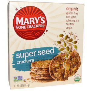 Крекеры из цельного зерна, Mary's Gone Crackers, 155 г.