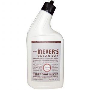 Средство для чистки унитаза, Toilet Bowl Cleaner, Mrs. Meyers Clean Day, 710 мл