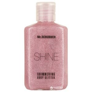 Глиттер, Glitter, Розовый блеск, Mr. SCRUBBER, 60 мл