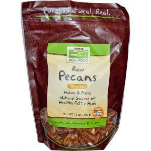 Пекан орехи, Now Foods, 340 г