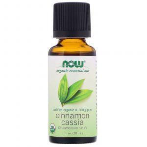 Масло корицы китайской, Essential Oils, Cinnamon Cassia, Now Foods, 30 мл