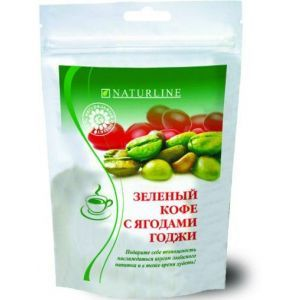 Зеленый кофе с ягодами годжи, Biola, 100 г