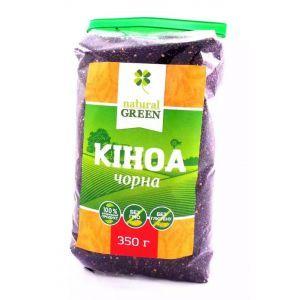 Киноа черная,  NATURAL GREEN, 350 г