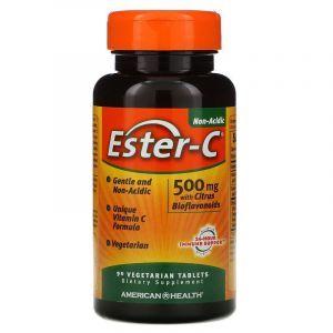 Эстер С, Ester-C, American Health, 500 мг, 90 таблеток