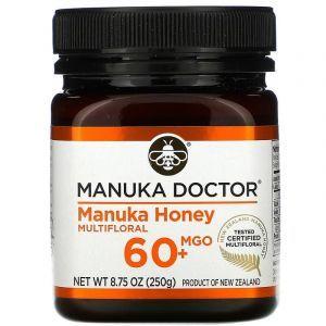 Манука мед, 20+, Manuka Honey, Manuka Doctor, (250