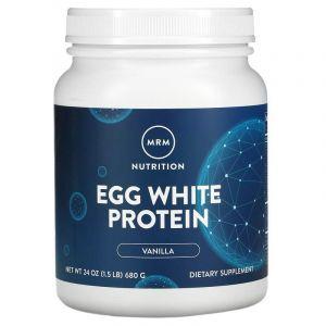 Яичный протеин, французская ваниль, Natural Egg White Protein, MRM, 680 г