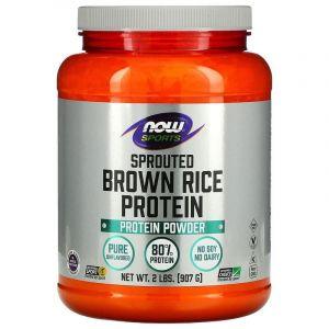 Протеин бурого риса, Now Foods, 907 гр