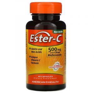 Эстер С, American Health, 500 мг, 60 капс