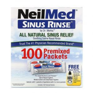Средство для промывки носа, Sinus Rinse, NeilMed, 100 шт