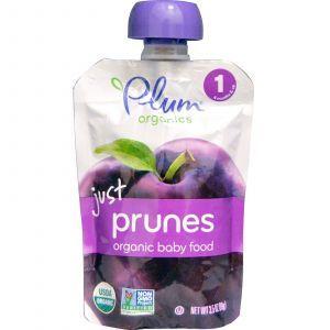 Детское пюре (чернослив), Just Prunes, Plum Organics, 99г