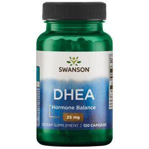 ДГЭА (дегидроэпиандростерон), DHEA, Swanson, 25 мг, 120 капсул