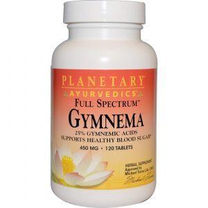 Джимнема, Planetary Herbals, 450 мг, 120 таблеток