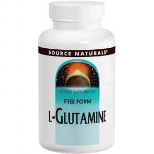 L-Глютамин, Source Naturals, 500 мг, 100 таблеток