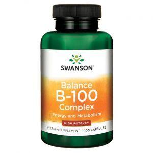 Комплекс В-100, Balance B-100 Complex, Swanson, 100 капсул