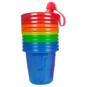Чашка-непроливайка для детей от 6+ месяцев, Sippy Cups, The First Years, 6 шт