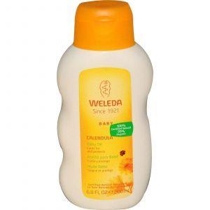 Масло для младенцев с календулой, Weleda, 200 мл